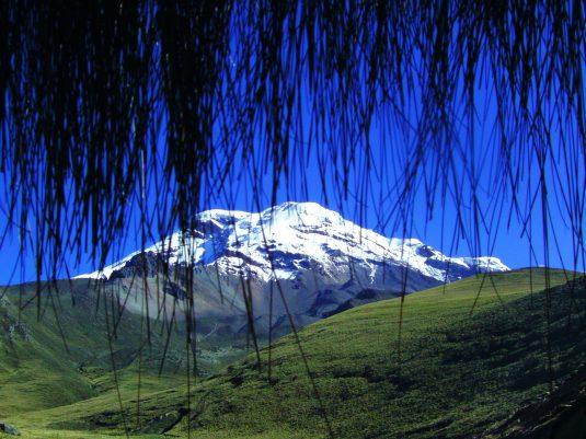 """Der Chimborazo ist Ecuadors höchster Berg. """"Eine schlafende Schönheit."""""""