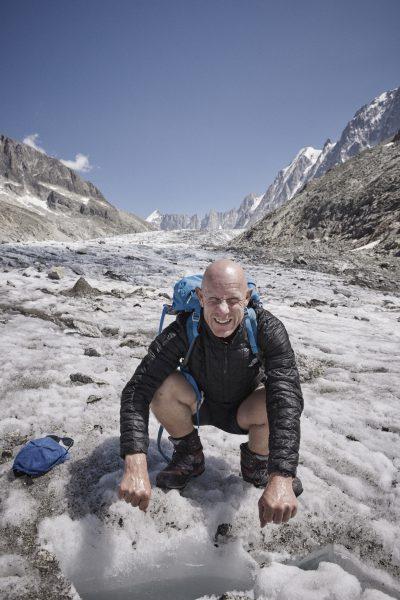 Glacier d' Argentiere - zum Niederknien