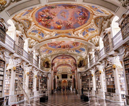 Die größte Kloster-Bibliothek der Welt im Stift Admont
