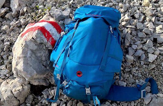 Viele finden den Weg hinauf zur Hesshütte. Mit Sack und Pack.