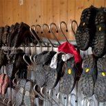 Stiefelparade in der Hesshütte. Ein Geruchserlebnis