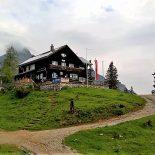 Auf der Treffneralm steht die Mödlingerhütte