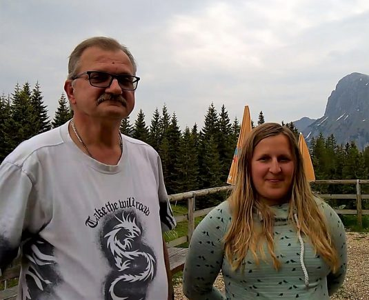 Wolfgang und Bertrun verbringen ihre erste Saison auf der Mödlingerhütte